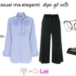 Casual but elegant after the fifties: look ideas