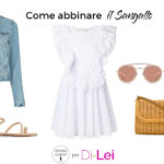 How to combine Sangallo lace: 3 look ideas