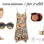 Summer look flower look: how to match the flowers on the beach