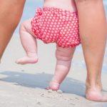 Why should children walk barefoot (especially in summer)