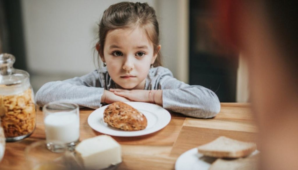 Fussy eating syndrome: when your child eats few things