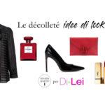 How to wear the décolleté: look ideas