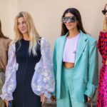 The influencers' looks during the Milan fashion week