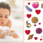 "Lush and the Valentine's collection with ""naked"", fragrant and fun products"