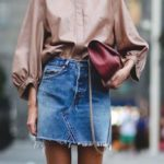 Sometimes they come back: the denim skirt