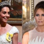 Kate Middleton enchants at the gala. Melania Trump disappears and Meghan Markle snubs them