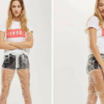 Transparent plastic jeans are the new trend