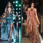 Gipsy fashion: skirts and soft, ethnic and colored dresses