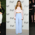Crop top and high-waisted trousers: a must-have for the season