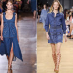 Blue outfits, casual or refined, for spring-summer 2015