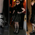 "Madonna and tank wedges: all crazy about the ""track shoes"""