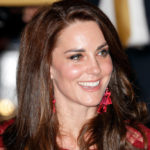 Kate Middleton in red and stilettos enchants London. But William is not there