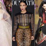 Alta Moda: Valentino's nude. Conchita bearded bride, Kardashian trash