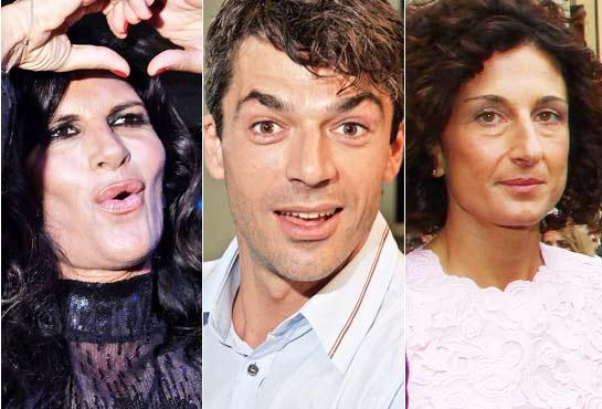 Pitti Uomo among records and celebrities: Prati, Lady Renzi, Serena Grandi ... Photos