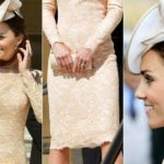 Kate Middleton, a lesson in style with a recycled dress. Photo