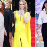 Cannes, look to the votes: Uma Thurman in yellow Bill Kill, Bellucci disappointment