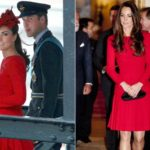 Kate and the art of recycling: put on McQueen's red dress