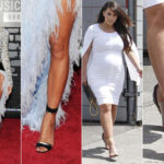 Jewel, squeezed, branded: the sandals chosen by celebrities