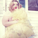 Velvet D'Amour, the 136-pound model that rejects stereotypes