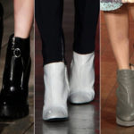 Ankle Boots, must-haves of the season. Colors and contrasts to wear