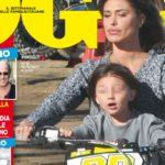 Belen Rodriguez in motion with his son without a helmet: Stefano De Martino angry