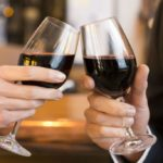 Alzheimer's, young brain with two glasses of wine a day