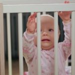 Children, injuries from falls from beds and sofas, never leave them alone