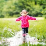 Clever children climb trees and get dirty in the mud