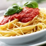 Diet, because evening pasta makes you lose weight and helps sleep