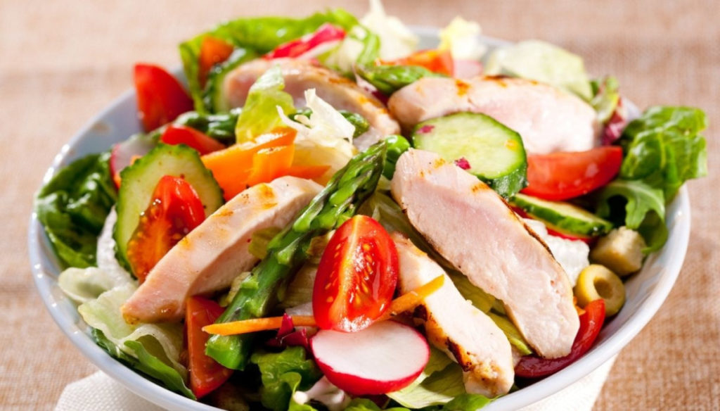 Diet with chicken and vegetables: reduce weight and protect yourself from diabetes