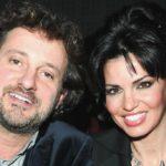 Friends Celebrities, Pieraccioni backstage to support Laura Torrisi
