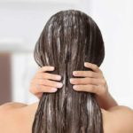 Hair: the natural anti-frizz mask