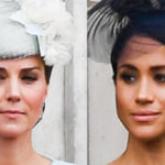Kate, I face Meghan. Harry and William further and further away