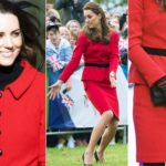 Kate, a fashion phenomenon. And his red suit is selling like hot cakes