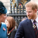 Kate and Harry together in Westminster: smiling and accomplices without William and Meghan
