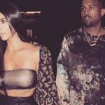 Kim Kardashian, mourning for Kanye West: one year's nephew died