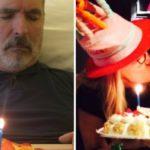 Lamberto Sposini is 65 years old. The tender selfie with Mara Venier