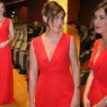 Maria Elena Boschi at the Maggio Fiorentino Gala: the red of controversy