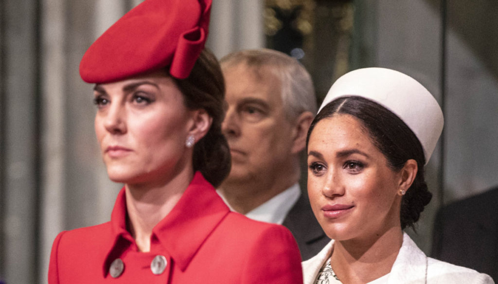 Meghan Markle and Kate Middleton as new mothers in 2020: the indiscretion