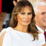 Melania Trump, victim of a risqué accident and the secret meaning of the white dress