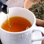 Tea leaves against lung cancer. Research