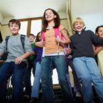 The middle school kids will be able to return home alone. The turn-around comes