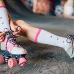 Trendy and retro: all summer on roller skates