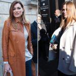Vip guests at fashion week, Cristina Parodi, presenter