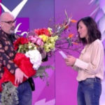 The husband consoles the Bailiff after the controversy over Sanremo: flowers on live TV
