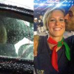 Flashback between Pellegrini and Magnini: romantic dinner and kisses