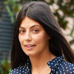 Alessandra Mastronardi in Venice with the maxi polka-dot dress: revenge on Caterina Balivo