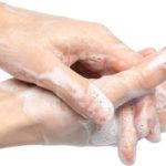 Liquid soap beats mousse against bacteria