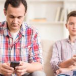 If your children get hurt it's because you get distracted with your smartphone