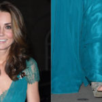 Kate Middleton recycles the dress from 6 years ago and enchants. But forget a detail